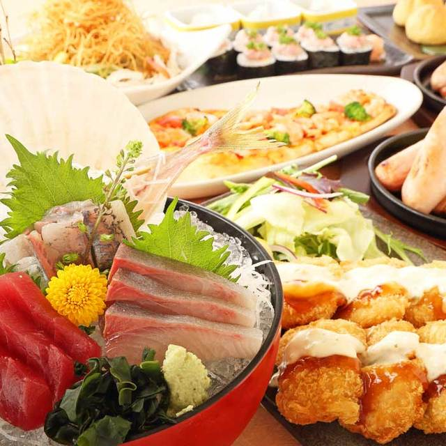 【eating】Seafood Izakaya Flower Dance Shinjuku store southeast port