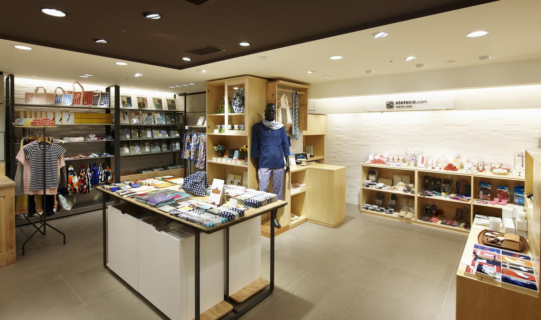 【Shopping】steteco.com TOKYO LABO (ecute within Tokyo Station Tokyo Branch)