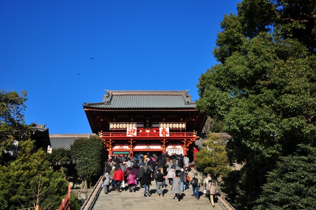 【Sightseeing】Tsurugaoka Hachimangu Shrine