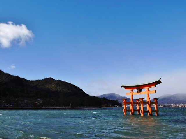 【Sightseeing】Itsukushima Shrine