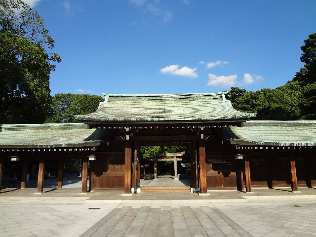 【Sightseeing】Meiji Jingu Shrine