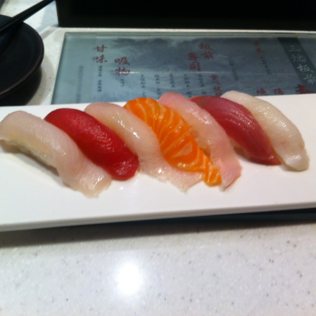 【Taipei】Eat Sushi as much as you like