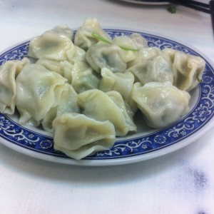 "【Taipei】Water dumplings restaurant""信陽麺館"""