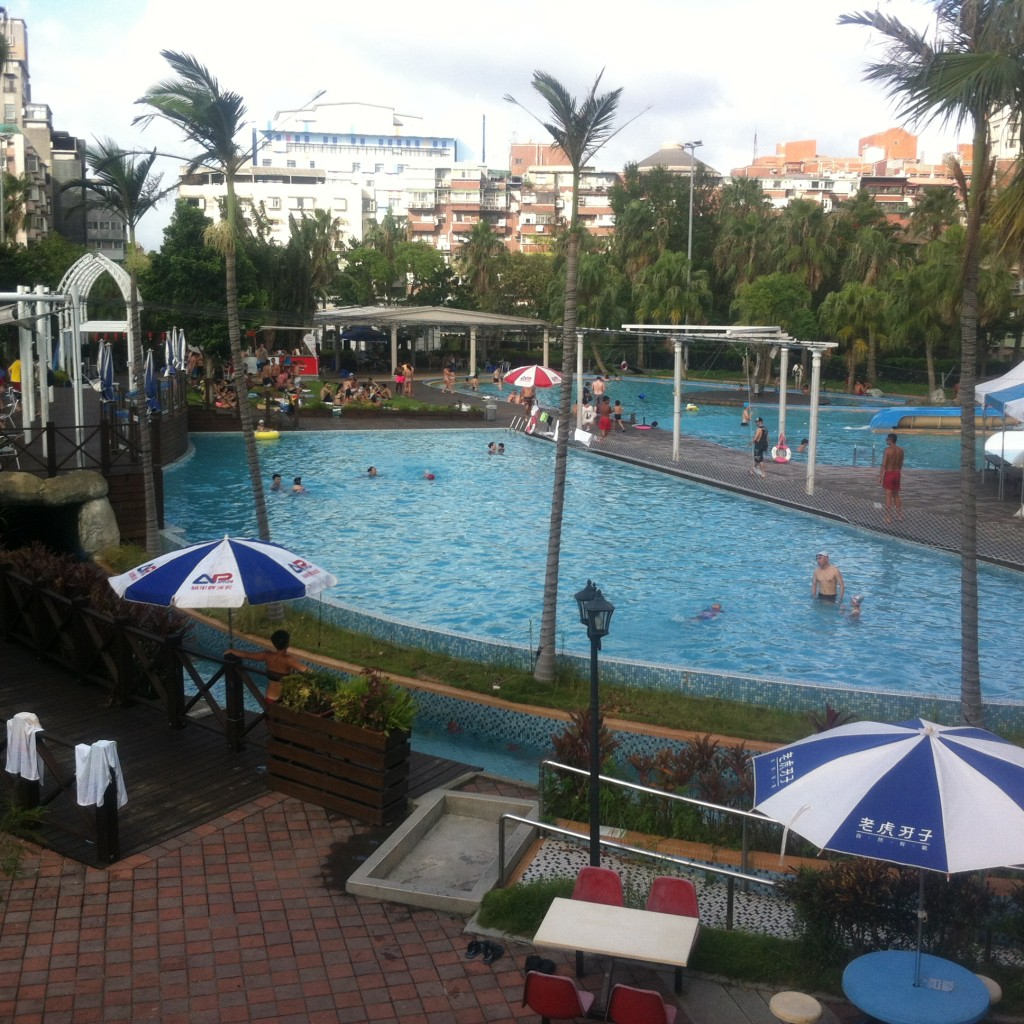 【Taipei】swimming pool in Taipei