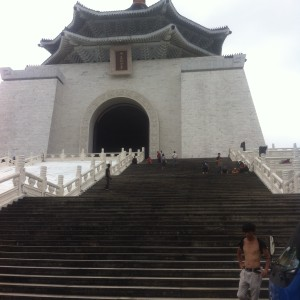 【Taipei】Chiang Kai-shek Memorial Hall Changing of the Guard ceremony