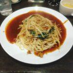 "【Gourmet】""Ankake Taro""Nagoya specialty Ankake pasta"