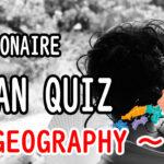 Japan quiz Millionaire -geography-