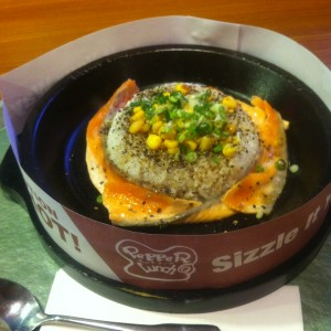 【Taipei】Lunch at Pepper lunch
