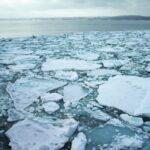 Experience drifting ice in the Sea of Okhotsk, Hokkaido